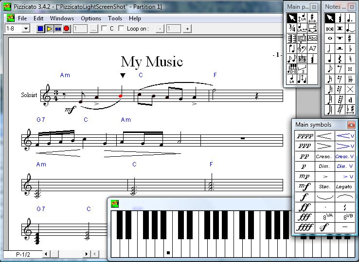 An introduction to music software.