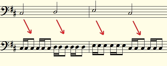 Music software for harmony and counterpoint