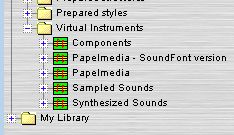 The virtual instruments